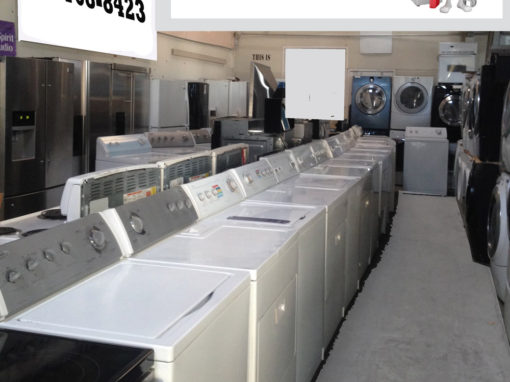 Used Appliances for Sale San Jose